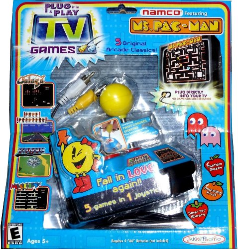 Tv Games Plug Into : Ms pac man and friends plug play tv games shopswell