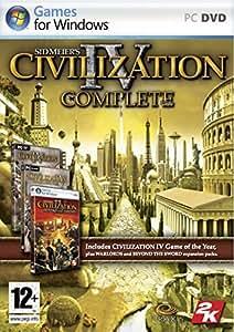 Coffret Civilization 4 (Civ 4 + Extension Beyond the Sword + Extension Warlords)