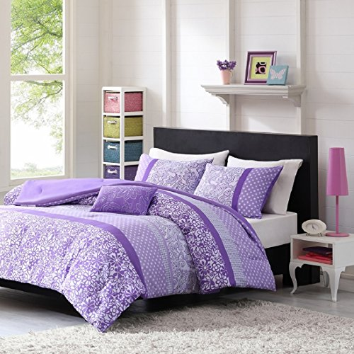Teen Girl Comforter Sets Purple Lavender Lilac