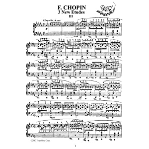 Chopin Etude Op. 10 No. 9: Instantly download and print sheet music Chopin