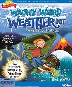 POOF-Slinky 0S6802019 Scientific Explorer Wacky Weird Weather Kit by Scientific Explorer TOY (English Manual)