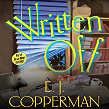 Written Off Audiobook by E. J. Copperman Narrated by Amanda Ronconi