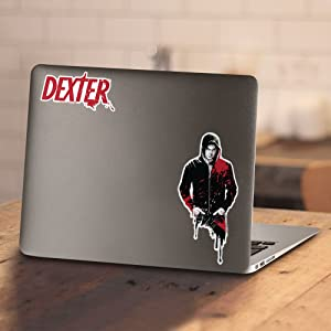 Dexter TV Show Bay Harbor MOONLIGHT FISHING Licensed Heather T-Shirt All Sizes