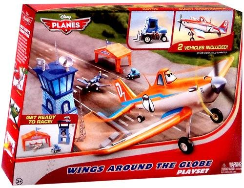 Disney PLANES Playset Wings Around the Globe by Unknown