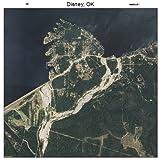 Aerial Photography Map of Disney, Oklahoma 2013 OK