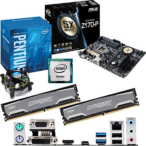 Intel Skylake Core I3 6100 3.7ghz, Asus Z170-p Cpu & Motherboard Bundle (8gb Ddr4 2400mhz) Picture
