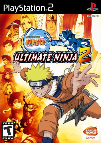 Naruto Ultimate Ninja 2 - PlayStation 2 (Ps2 Ninja Games compare prices)