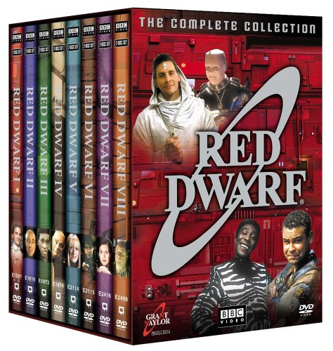 Red Dwarf DVD Pack