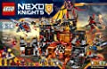 Lego Nexo Knights 70323 Jestros Volcano Lair Building Kit 1186 Piece from LEGO