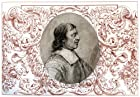One person Wall Decals Oliver Cromwell - 24 inches x 17 inches - Peel and Stick Removable Graphic