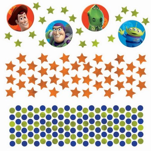 Disney Toy Story 3 Value Confetti (Multi-colored) Party Accessory - 1