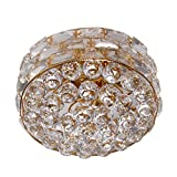 LOOKLITE Celling Lights With Crystal Set 24W Gold Plated