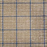 MCG Textiles 67554 Latch Hook Supplies Blue Lined 3 3/4 Mesh Graph N Latch Canvas 54x60