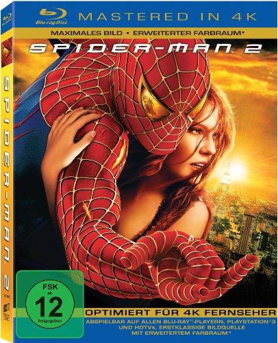 Spider-Man 2 (Mastered in 4K) [Blu-ray]