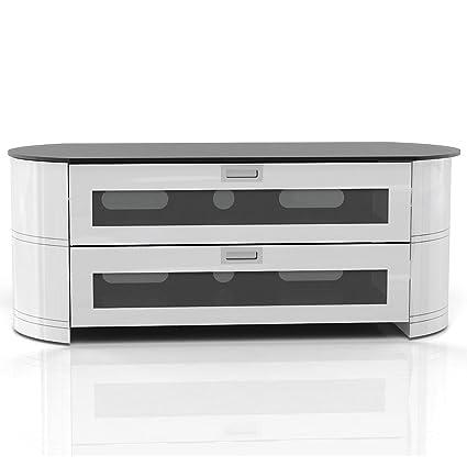 Gecko Opal OPA1200-GW Cabinet for 60 inch TV - White