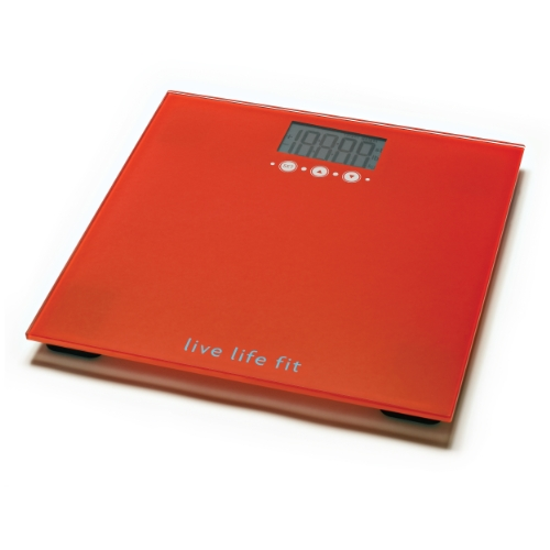 Escali Digital Bathroom Scale With Track And Target Memory 440lb//200kg