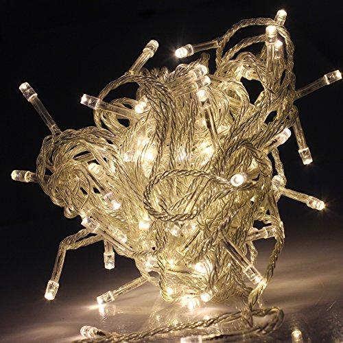 String Lights Qatar : Outdoor Christmas Tree Light 10meter 100LEDs LED Christmas Lights AC110v Warm White Fairy String ...