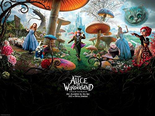 Alice in wonderland (32x24 inch, 80x60 cm) Silk Poster Seta Manifesto PJ10-AC84