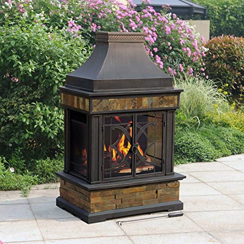 Sunjoy-Heirloom-Slate-Fireplace