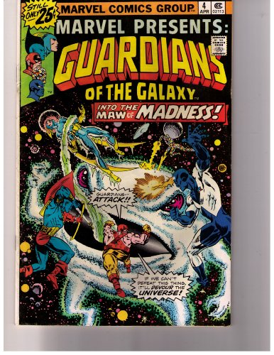 Marvel Presents: Guardians of the Galaxy no. 4 Apr. 1976 (Stan Lee Presents: The Guardians of the Galaxy, Vol. 1) (Marvel Presents Guardians compare prices)