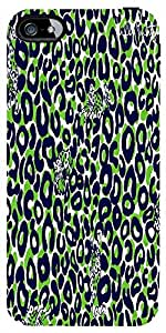 Snoogg Leopard Print Case Cover For Apple Iphone 5C