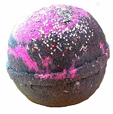 GALAXY Bath Bomb by Soapie Shoppe SMELLS LIKE BLACKBERRY With a hint of LAVENDER!