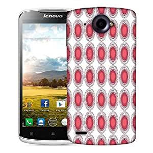 Snoogg Red Holes Designer Protective Phone Back Case Cover For Lenovo S920