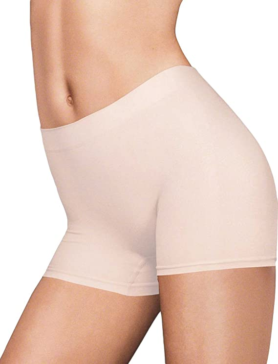 Maidenform Women's Mesh Lin With Lace Boy Shorts Panties