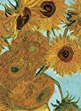 img - for Van Gogh's Sunflowers Notebook (Dover Little Activity Books) book / textbook / text book