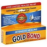 Gold Bond Anti-Itch Skin Protectant Cream, Intensive Healing, Unscented, 1 oz (28 g)