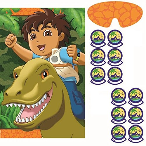 Amscan Entertaining Diego's Biggest Rescue Party Game, Multi