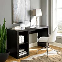Better Homes and Gardens Cube Organizer Desk (Espresso)