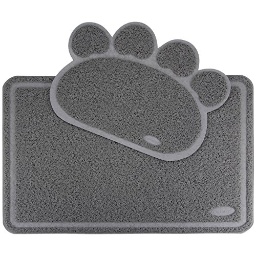 Ollieroo Premium Jumbo Size Cat Litter Mat Set XL Super Size 35 x 24 Inches Big Best Extra Large Scatter Control Kitty Litter Mats for Tracking litters Out of Cat litter Box Soft to Paws (Litter Pan Mat compare prices)