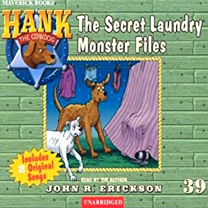 The Secret Laundry Monster Files Audiobook
