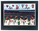 MLB Framed Baseball St. Louis Cardinals Brock Pujols Rolen Smith Gibson Wall Art Print F6652A at Amazon.com