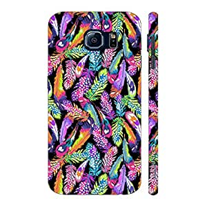 Enthopia Designer Hardshell Case Feather Love Back Cover for Samsung Galaxy S7 Plus