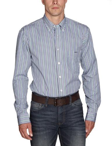 Gant Men's 309140 Casual Shirt Green (Clover Green) 48