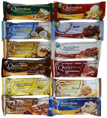 Quest, Quest Nutrition Protein Bar variété PK