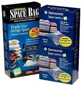 Amazon Original Space Bags 5 Plus Bonus Space Saver