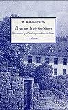 echange, troc Madame Guyon, Dominique Tronc, Murielle Tronc - Ecrits sur la vie intérieure