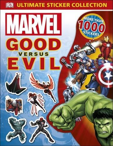 Marvel Good vs Evil Ultimate Sticker Collection (Dk Marvel)