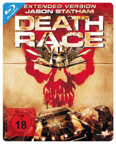 Death Race - Extended Version/Steelbook [Blu-ray]