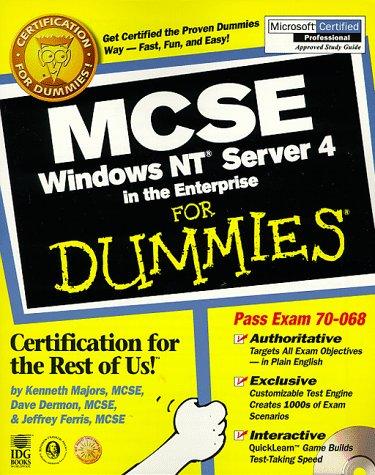 McSe Windows Nt Server 4 in the Enterprise for Dummies