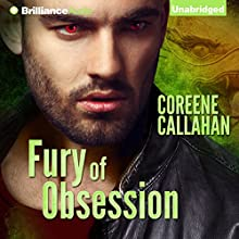 Fury of Obsession (       UNABRIDGED) by Coreene Callahan Narrated by Cole Ferguson