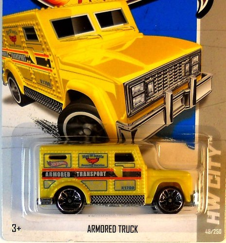 2013 Hot Wheels Hw City Armored Truck 48/250 - 1