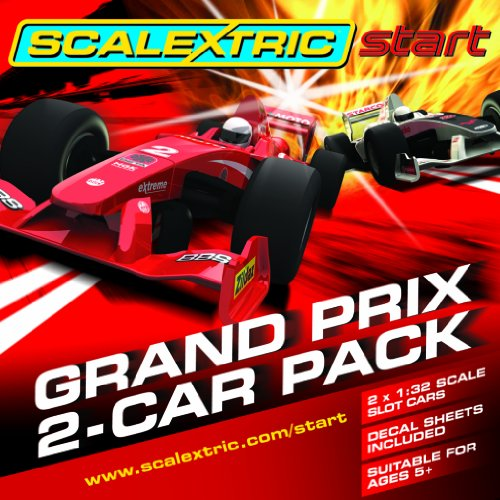 Scalextric C3141 1:32 Scale Start Single Seaters Start Car (Twin Pack)