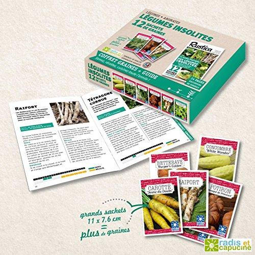 radis-et-capucine-coffret-de-12-sachets-guide-rustica-legumes-insolites