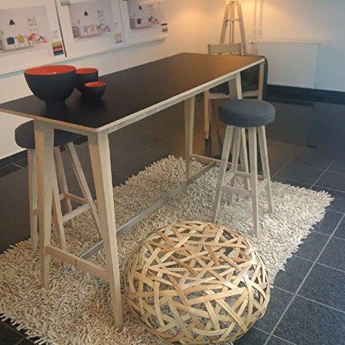 lounge-zone-Design-Bartisch-Bistrotisch-Stehtisch-Hochtisch-Tresentisch-Kchenbartisch-Holzstehtisch-MAYFLOWER-Eiche-Holz-Massivholz-gewachst-lackiert-schwarzes-HPL-Top-12650