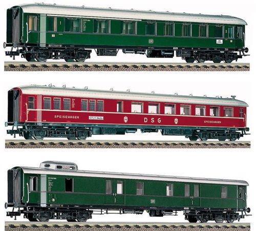 Roco 64069 DB Riviera Express Coach Set (3) III