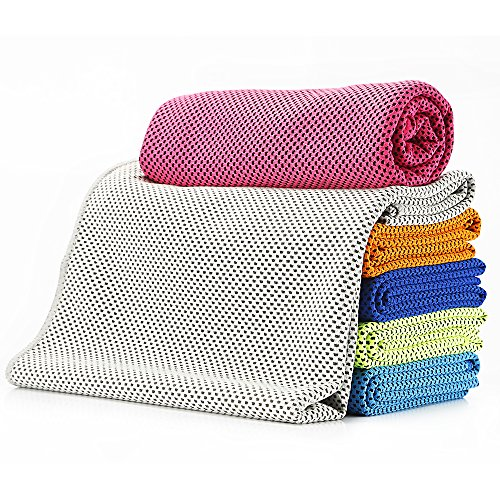 Cooling Towel - Ultraviolet Protection Chill Towel for Sports Fitness Gym Yoga Camping Travelling